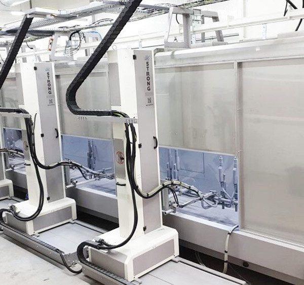 Statik Toz Boyama Robotları