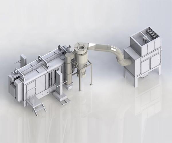 Plastik Metal Mono Siklon