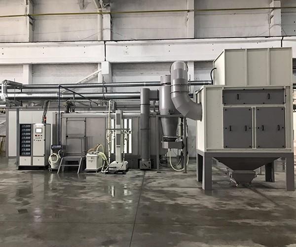 Plastik Metal Siklon Kabin
